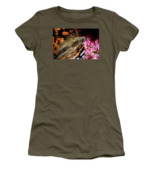 Painted Lady Butterfly Women's T-Shirt