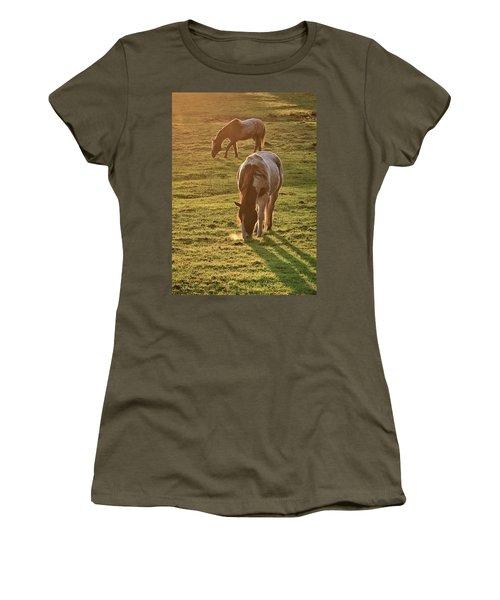 Paints Backlit Women's T-Shirt (Athletic Fit)