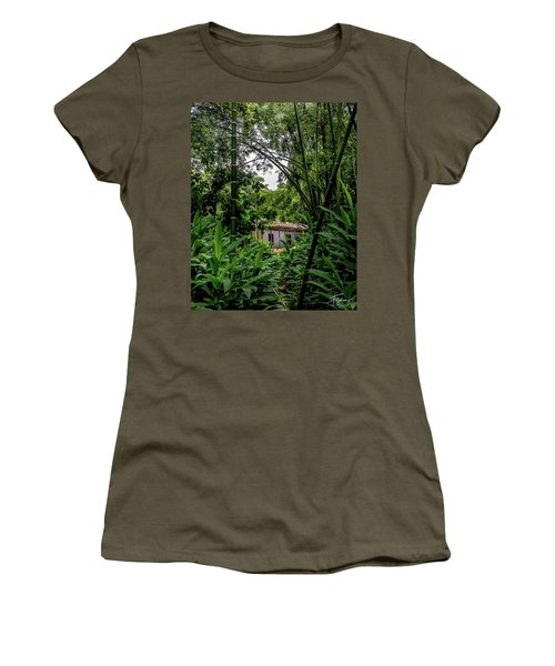 Women's T-Shirt featuring the photograph Paiseje Colombiano #10 by Francisco Gomez