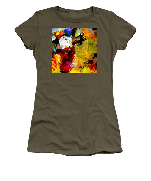 Palette Abstract Square Women's T-Shirt
