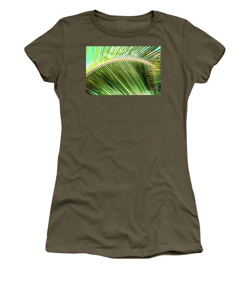 Palm Frond Sway Women's T-Shirt