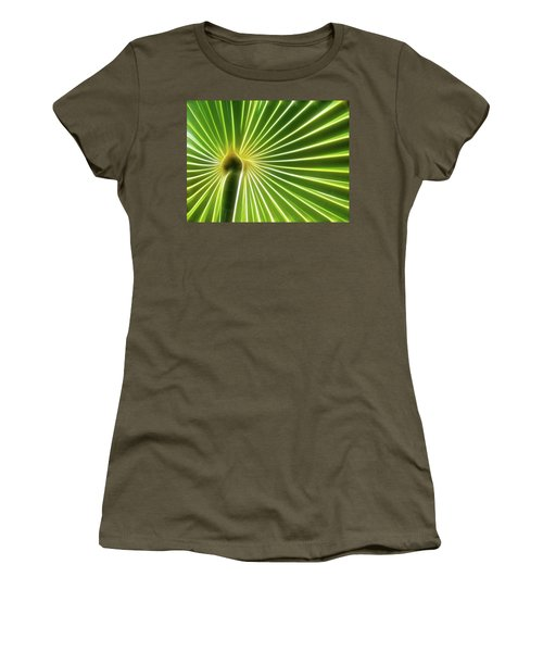 Palm Glow Women's T-Shirt (Athletic Fit)