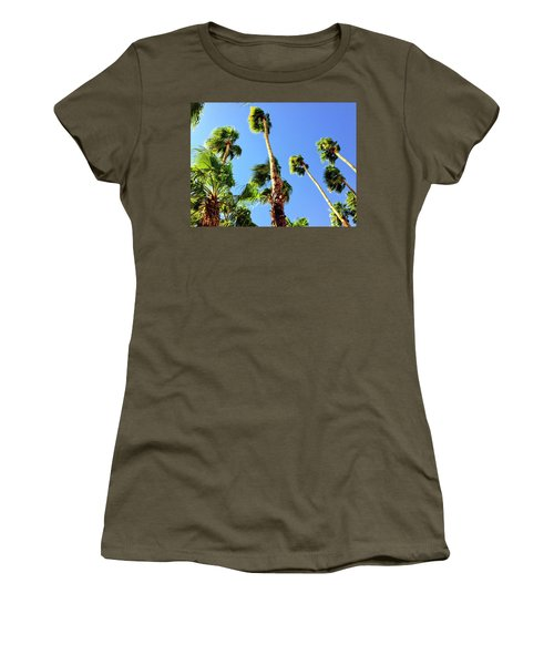 Palm Trees Looking Up Women's T-Shirt