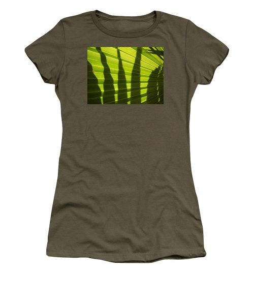 Women's T-Shirt (Junior Cut) featuring the photograph Palmetto 4 by Renate Nadi Wesley