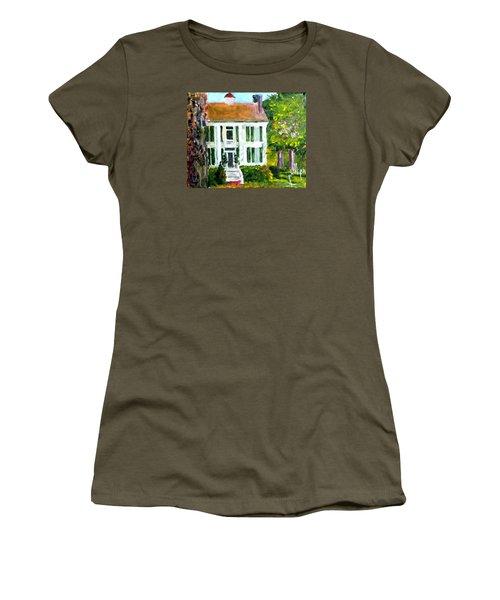 Palto Alto Plantation Up Close Women's T-Shirt (Junior Cut) by Jim Phillips
