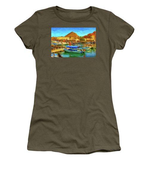 Pangas With Land's End Women's T-Shirt (Junior Cut)
