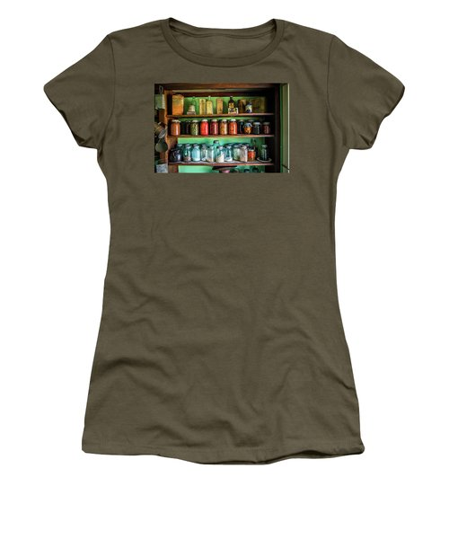 Women's T-Shirt (Junior Cut) featuring the photograph Pantry by Paul Freidlund
