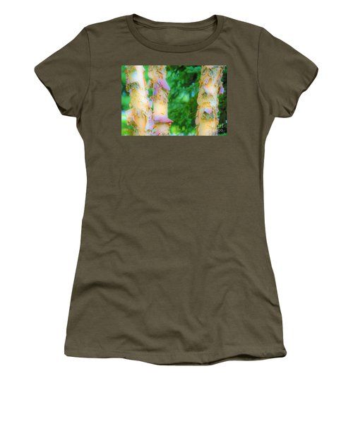 Paper Thin Bark Women's T-Shirt (Athletic Fit)
