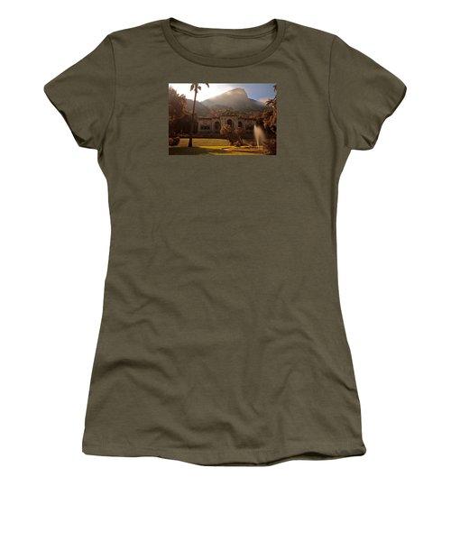 Parque De Lague Women's T-Shirt (Junior Cut) by Mark Nowoslawski