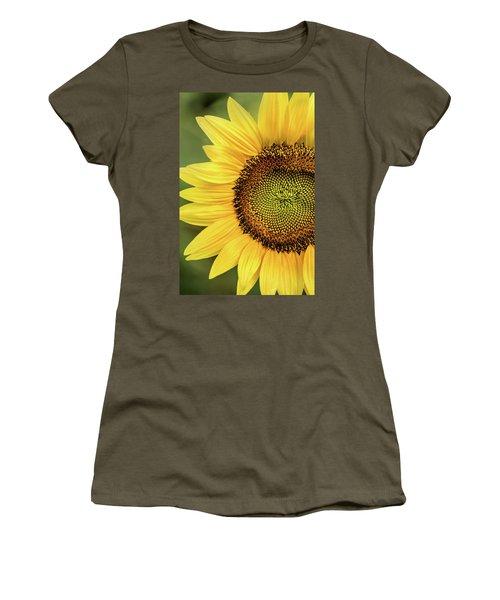Part Of A Sunflower Women's T-Shirt