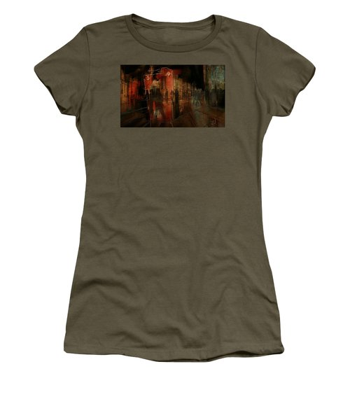 Passers In The Night Women's T-Shirt (Junior Cut) by Jim Vance