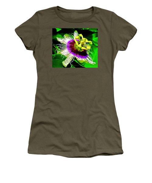 Passion Flower 3 Uplift Women's T-Shirt