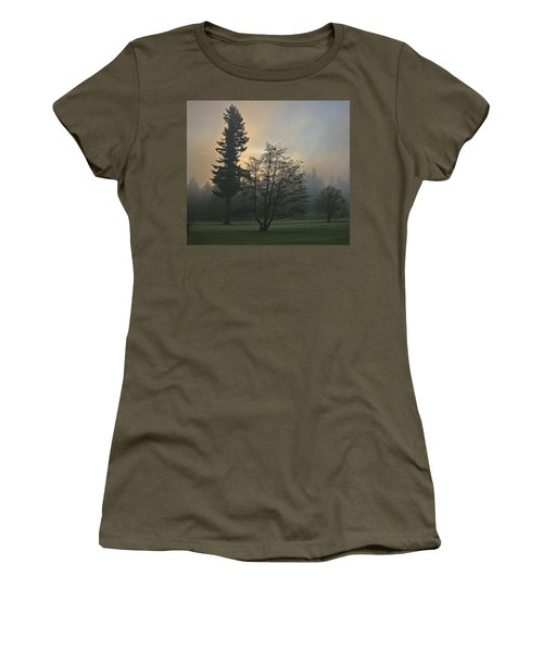 Patchy Morning Fog Women's T-Shirt