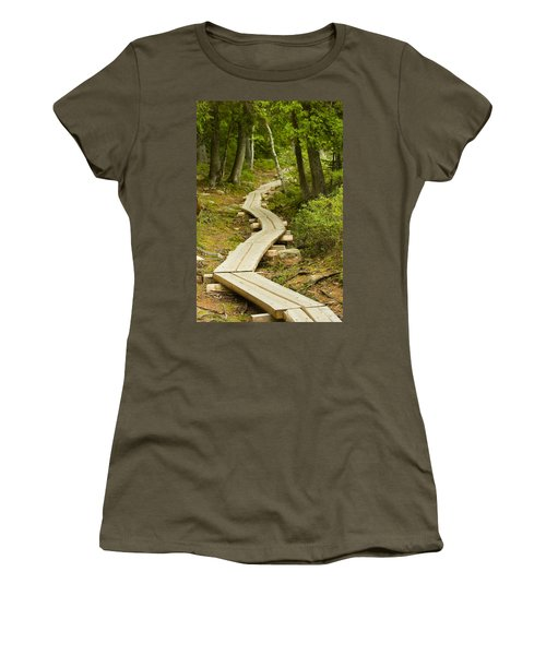 Path Into Unknown Women's T-Shirt