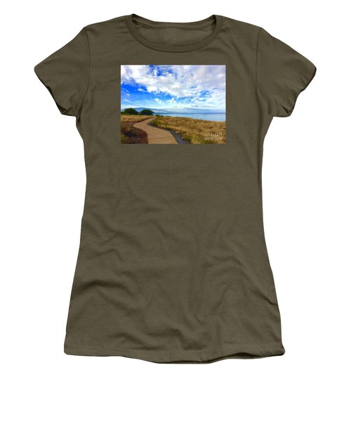 Pathway To Heaven Women's T-Shirt (Athletic Fit)