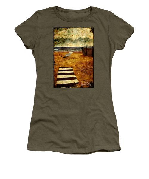 Pathway To The Sea II Women's T-Shirt