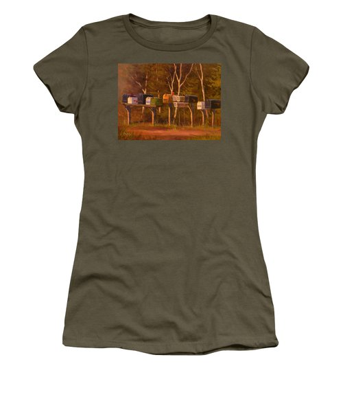Patiently Waiting Women's T-Shirt (Athletic Fit)