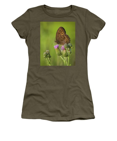 Women's T-Shirt (Athletic Fit) featuring the photograph Pauper's Throne by Bill Pevlor