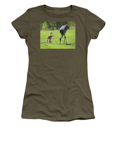 Sandhill Cranes Women's T-Shirt