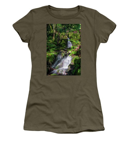 Women's T-Shirt (Athletic Fit) featuring the photograph Peace And Tranquility Too by Geoff Smith