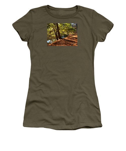 Women's T-Shirt (Junior Cut) featuring the photograph Peace On Earth by Betsy Zimmerli