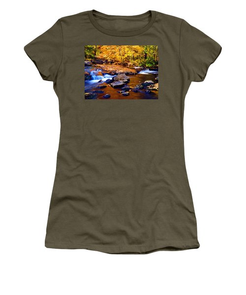 Peaceful Autumn Afternoon  Women's T-Shirt (Athletic Fit)