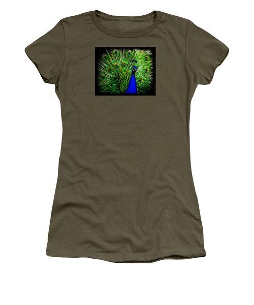 Peacock Paradise Women's T-Shirt