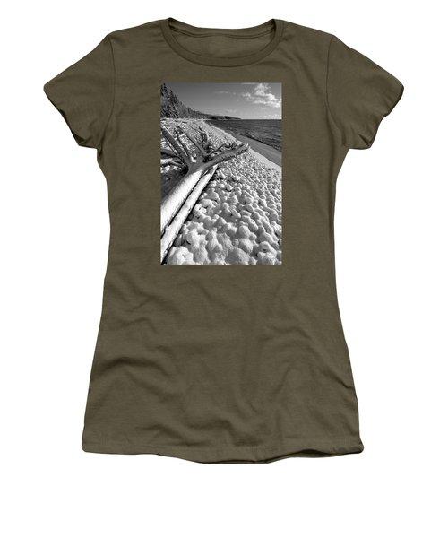 Pebble Beach Winter Women's T-Shirt