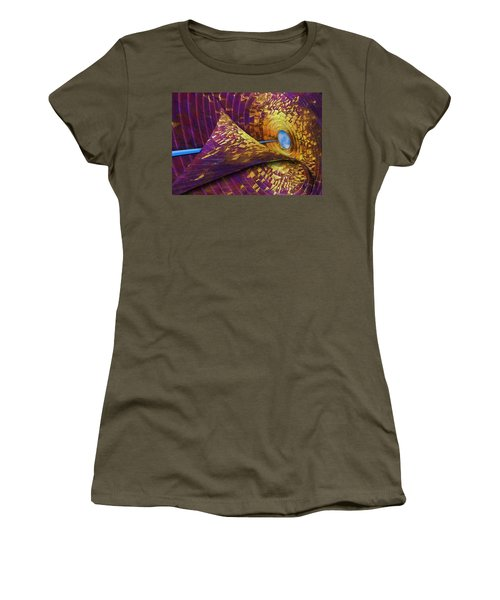 Women's T-Shirt (Athletic Fit) featuring the photograph Peeling Back Time by Paul Wear