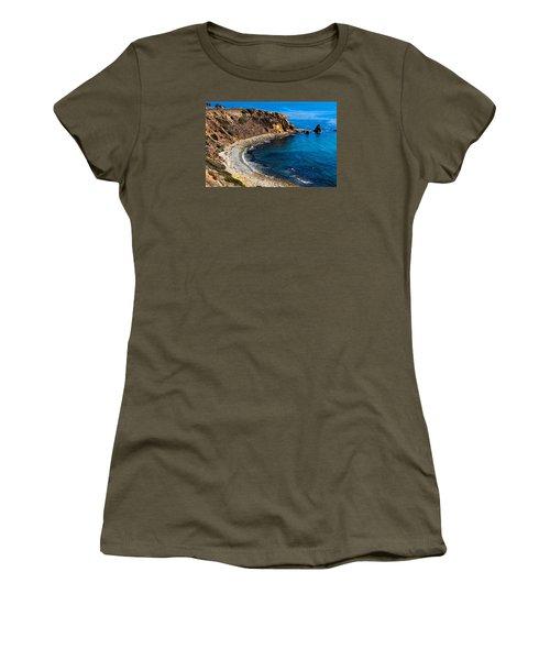 Pelican Cove Women's T-Shirt (Junior Cut) by Ed Clark