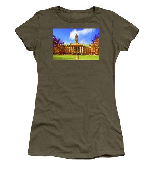 Penn State University Women's T-Shirt (Athletic Fit)