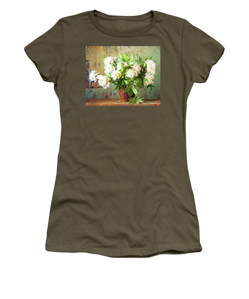 Peonies In A Vase Women's T-Shirt
