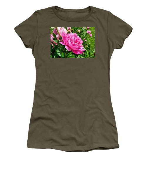 Peonies In Spring Women's T-Shirt