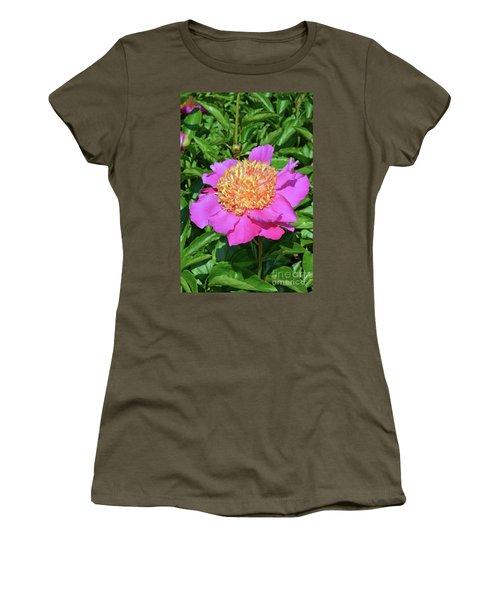Peony 10 Women's T-Shirt (Junior Cut) by Eva Kaufman