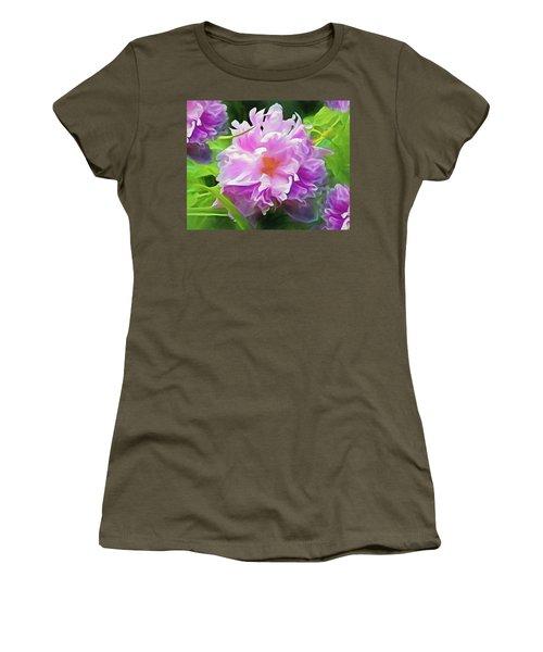 Peony Cluster 7 Women's T-Shirt