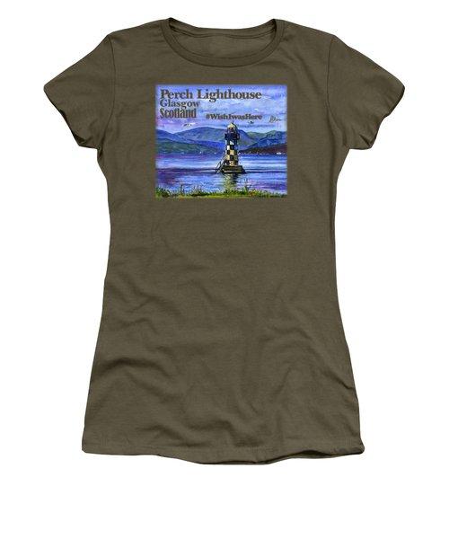 Perch Lighthouse Scotland Shirt Women's T-Shirt