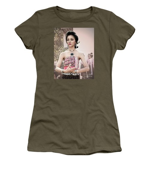 Performance Of Beauty Women's T-Shirt (Athletic Fit)