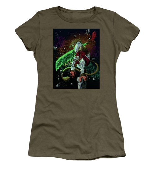 Perses God Of Destruction Women's T-Shirt (Athletic Fit)
