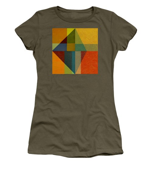 Perspective In Color Collage Women's T-Shirt