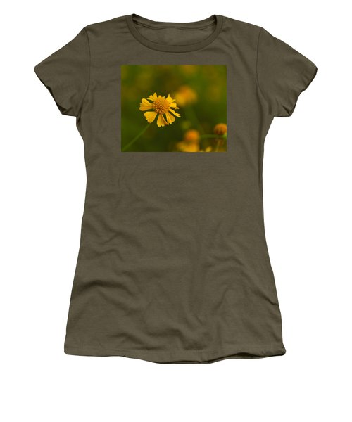 Petals Of Nature Women's T-Shirt (Junior Cut) by Christopher L Thomley