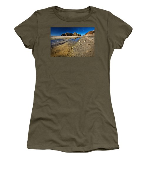 Women's T-Shirt (Junior Cut) featuring the photograph Pheiffer Beach -keyhole Rock #18 - Big Sur, Ca by Jennifer Rondinelli Reilly - Fine Art Photography