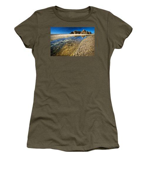 Women's T-Shirt (Junior Cut) featuring the photograph Pheiffer Beach- Keyhole Rock #19 - Big Sur, Ca by Jennifer Rondinelli Reilly - Fine Art Photography