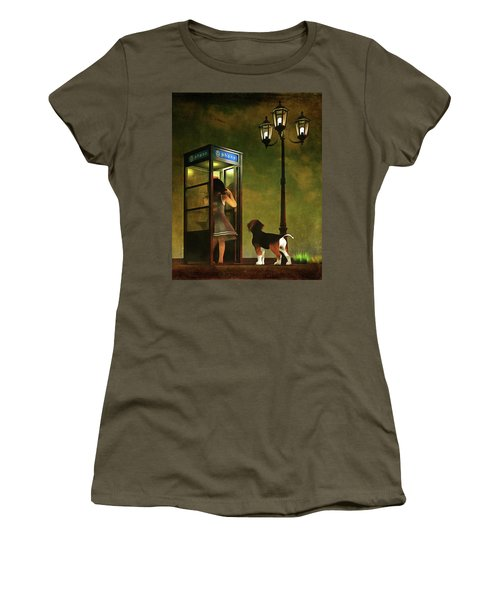 Phoning Home Women's T-Shirt (Athletic Fit)