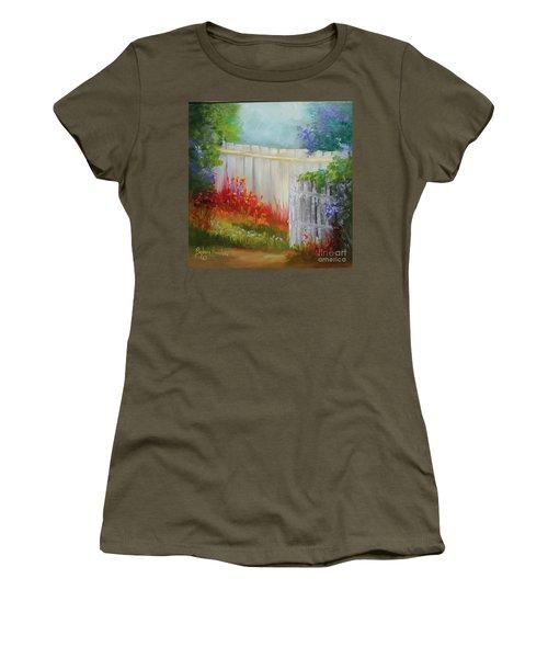 Picket Fences Women's T-Shirt (Athletic Fit)