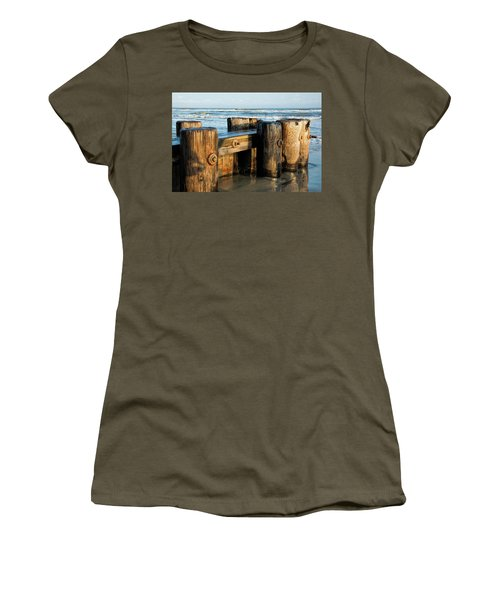 Pier Perspective Women's T-Shirt (Athletic Fit)