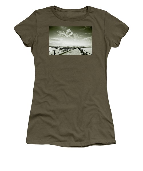 Pier-shaped Women's T-Shirt (Junior Cut) by Joseph Westrupp