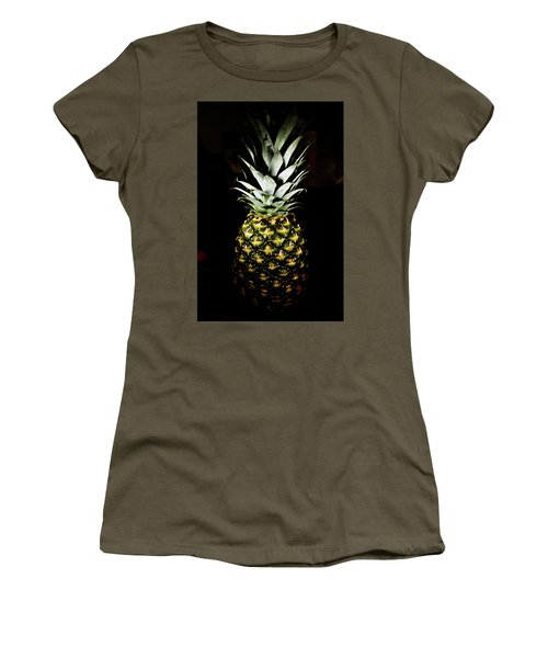 Pineapple In Shine Women's T-Shirt (Athletic Fit)