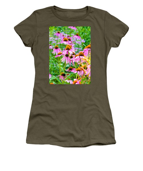 Pink Coneflower Women's T-Shirt