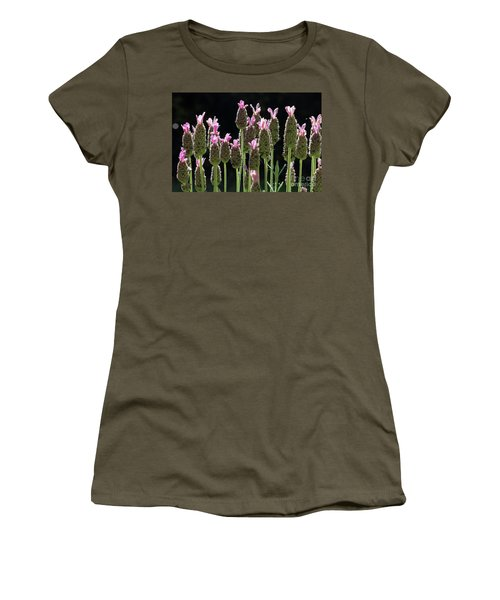 Pink Lavender Women's T-Shirt (Athletic Fit)