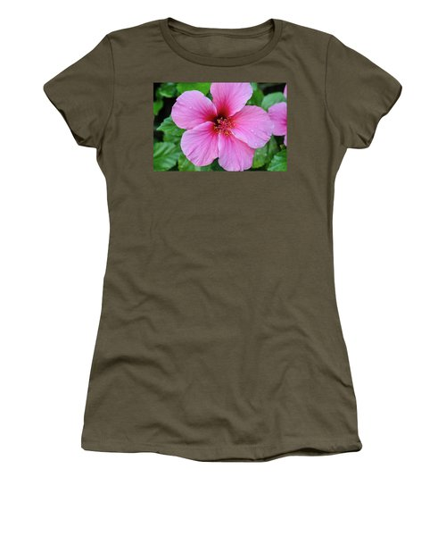 Pink Lugonia Women's T-Shirt (Athletic Fit)